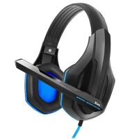 Компьютерная гарнитура  Gemix X-340 Black/Blue UA UCRF