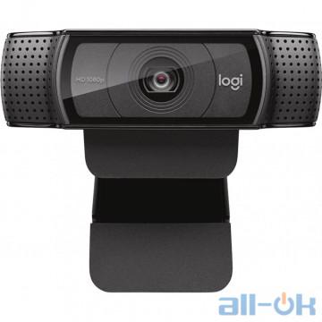 Веб-камера Logitech HD Pro Webcam C920 (960-001055) UA UCRF