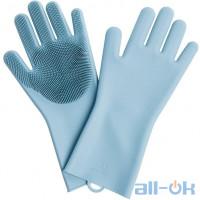 Перчатки хозяйственные Xiaomi Jordan-Judy Silicone Gloves (Blue)
