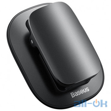 Автодержатель для очков Baseus Platinum Eyewear Clip (ACYJN-A01) Black