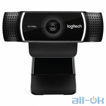Веб-камера Logitech C922 Pro Stream (960-001088) UA UCRF