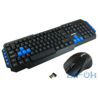 Комплект (клавиатура + мышь) JEDEL WS880 Black