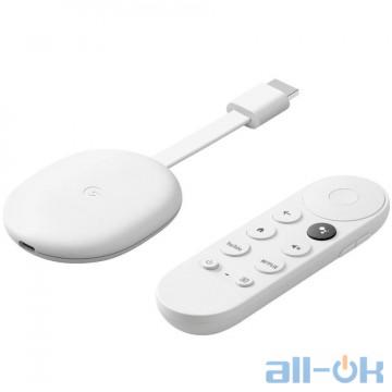 Google Chromecast 4K with Google TV Snow GA01919