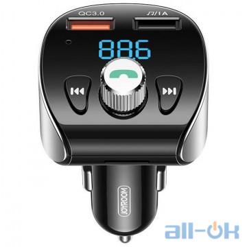 FM-трансмиттер JOYROOM with Bluetooth FM Shadow Series Wireless MP3 Player JR-CL02 Fast Charge