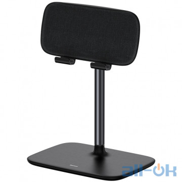 Держатель для смартфона/планшета Baseus Indoorsy Youth Tablet Desk Stand (Telescopic Version) (SUZJ-01) Black