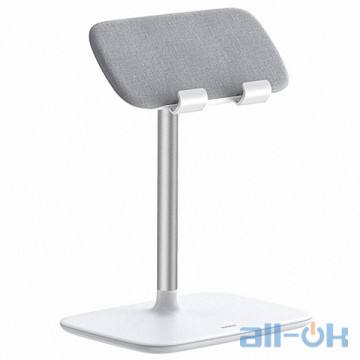 Держатель для смартфона/планшета Baseus Indoorsy Youth Tablet Desk Stand (Telescopic Version) (SUZJ-02) White