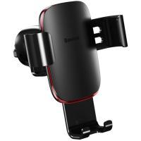 Автомобильный держатель для смартфона Baseus Metal Age Gravity Car Mount Black (SUYL-D01)