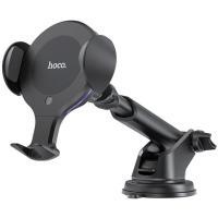 Автомобильный держатель для смартфона Hoco CA60 Infrared Sensor Aspiring Black
