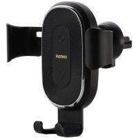Автомобильный держатель для смартфона REMAX RM-C38 Wireless Charger Black