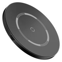 Беспроводное зарядное устройство BASEUS Simple Magnetic Wireless Charger (WXJK-E01) Black