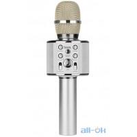 Караоке микрофон HOCO BK3 Silver