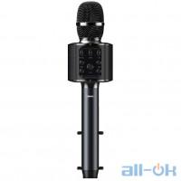 Караоке микрофон REMAX with Lights K05 Black