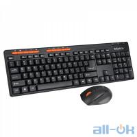 Комплект (клавиатура + мышь) Meetion MT-4100 Black RU/EN Раскладки