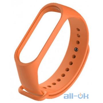 Ремешок для Xiaomi Mi Band 3/4 Orange