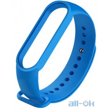 Ремешок для Xiaomi Mi Band 5 Blue