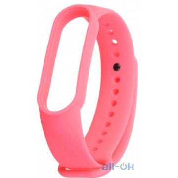 Ремешок для Xiaomi Mi Band 5   Hot Pink