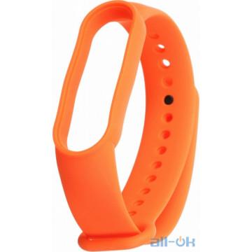 Ремешок для Xiaomi Mi Band 5 Orange