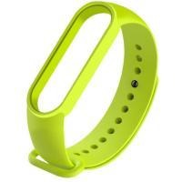 Ремешок для Xiaomi Mi Band 5 Yellow green