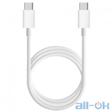 Кабель Xiaomi Mi USB Type-C to Type-C Cable White