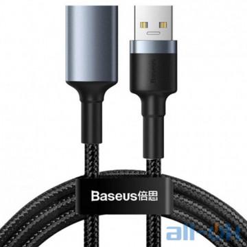 Кабель USB OTG Baseus Cafule Cable USB3.0 Male to USB3.0 Female 2A 1m (CADKLF-B0G) Black
