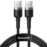 Кабель Baseus Cafule Cable USB3.0 Male to USB3.0 Male 2A 1m (CADKLF-C0G) Black