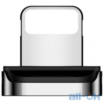 Адаптер/коннектор Magnetic Connector for USB Cable Usams U28 Lightning Silver