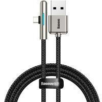 Кабель Baseus USB Cable Iridescent Lamp Mobile Game Type-C 1m Black (CAT7C-B01)