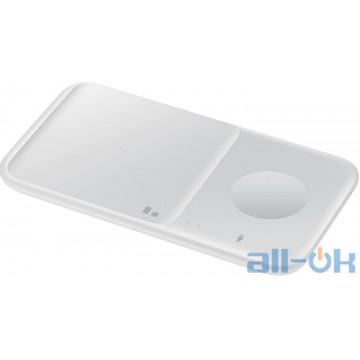 Беспроводное зарядное устройство Samsung Wireless Charger Duo EP-P4300TWRGRU White UA UCRF