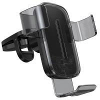 Держатель для смартфона Baseus Explore Wireless Charger Gravity Car Mount 15W Black (WXYL-K01)