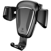 Автомобильный держатель для смартфона Baseus Car Holder Gravity Black (SUYL-01)