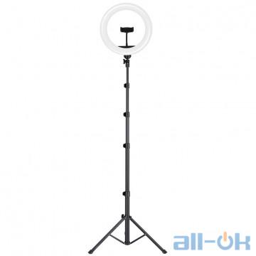 Держатель с кольцевым освещением JOYROOM Touch Selfie Ring Light JR-ZS228 AKL01 Black