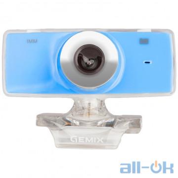 Веб-камера Gemix F9 Blue UA UCRF