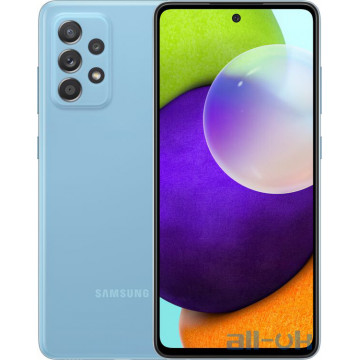 Samsung Galaxy A72 6/128GB  Blue (SM-A725FZBD)