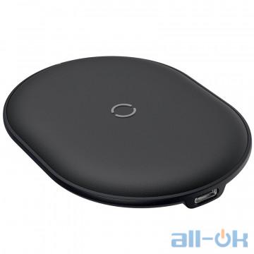 Беспроводное зарядное устройство Baseus Cobble Wireless Charger 15W Black (WXYS-01)