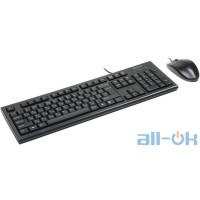Комплект (клавіатура + миша) A4Tech KR-8520D USB Black UA UCRF
