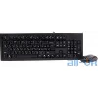 Комплект (клавіатура + миша) A4-Tech KRS-8520D Black UA UCRF