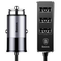 Автомобильное зарядное устройство Baseus Enjoy Together 5.5A Dark Gray (CCTON-0G)