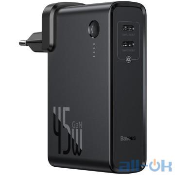 Внешний аккумулятор (Power Bank) Baseus Power Station 2-in-1 Quick Charger Black (PPNLD-F01)