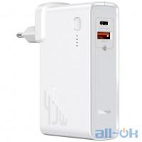 Зовнішній акумулятор (Power Bank) Baseus Power Station 2-in-1 Quick Charger White (PPNLD-C02)