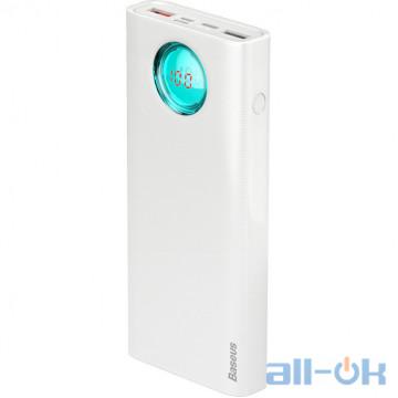 Внешний аккумулятор (Power Bank) Baseus Amblight Digital Display White (PPALL-LG02)