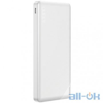 Внешний аккумулятор (Power Bank) Baseus Mini Cu Power Bank Dual USB 10000mAh White (PPALL-KU02)