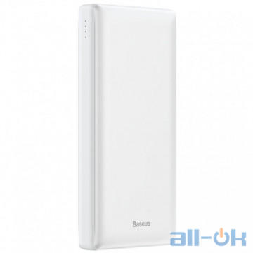 Внешний аккумулятор (Power Bank) Baseus Mini JA Fast Charge 3A 20000 mAh White (PPJAN-B02)