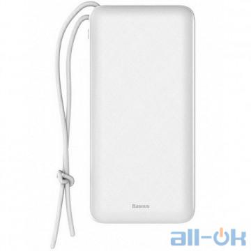 Внешний аккумулятор (Power Bank) Baseus Mini Q PD White 20000mAh (PPALL-DXQ02)