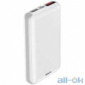 Внешний аккумулятор (Power Bank) Baseus Mini S Digital Display 10000mAh White (PPALL-XF02)
