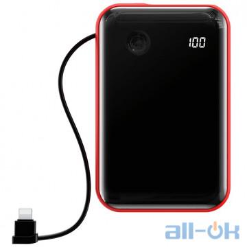 Внешний аккумулятор (Power Bank) Baseus Mini S 10000 mAh Lightning Red (PPXF-B09)
