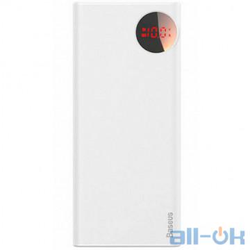 Внешний аккумулятор (Power Bank) Baseus Mulight PD QC3.0 20000mAh White (PPALL-MY02)
