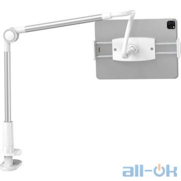 Держатель для смартфона/планшета Baseus Otaku Life Rotary Adjustment Lazy Holder Silver SULR-B0S
