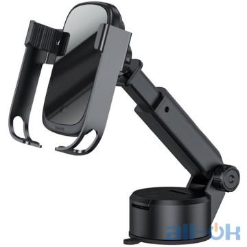 Автомобильный держатель для смартфона Baseus Rock-Solid Electric Holder Wireless Black (WXHW01-B01)