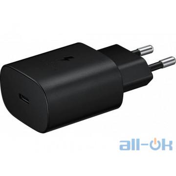 Зарядное устройство Samsung EP-TA800NBEGRU 25W Travel Adapter Black