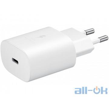 Зарядное устройство Samsung EP-TA800NBEGRU 25W Travel Adapter White